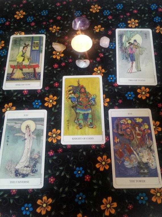 5 Card Chinese Tarot Deck Reading By AppalachianConjureBG