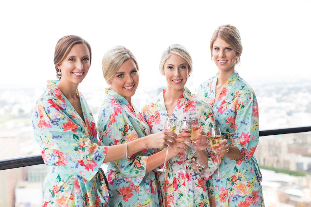 Bridesmaid Robes // Bridal Robe // Bride Robe // Bridal Party