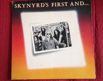 Lynyrd Skynyrd First and Last vinyl LP 1978 MCA Record