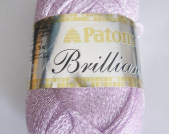 Patons Brilliant Yarn, Sparkling Rose - Pink - 1.75 -