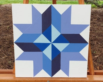 """12"""" X 12""""  Mini Barn Quilt, Barn Art. Barn Quilts for the rest of us!"""