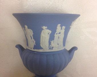 Wedgwood Jasperware Urn/ Vase   Great Christmas Gift