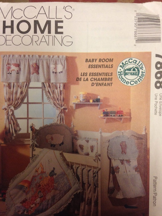 Pattern for Baby Room Essentials by McCall's Home ...