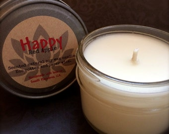 Fragrance Oil Soy Candles - Choose a Scent