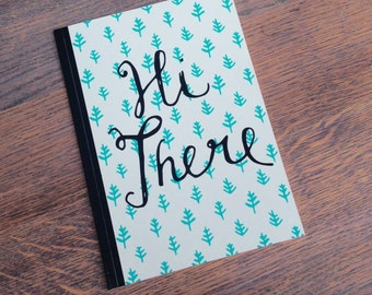 Note book 'Hi There' lined A5 (NB01)