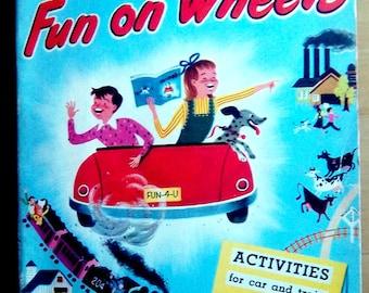 Fun on Wheels travel activity book