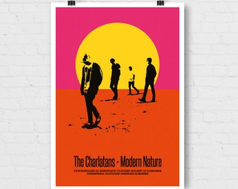 The Charlatans, Modern Nature A2 Indoor Poster