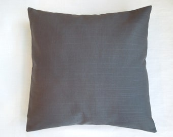 Dark Gray Pillow Sham