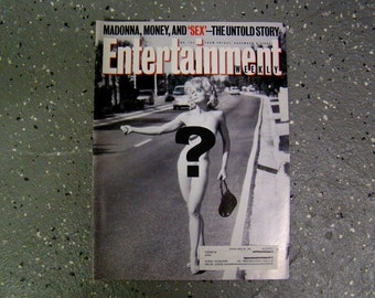 Madonna - Entertainment Weekly  - Nov. 1992