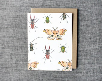 Buggin' - Illustrated Greeting Card