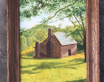 Cabin Fever in Summer Painting