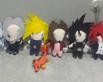 Final Fantasy Plush Chibi Kawaii Cute