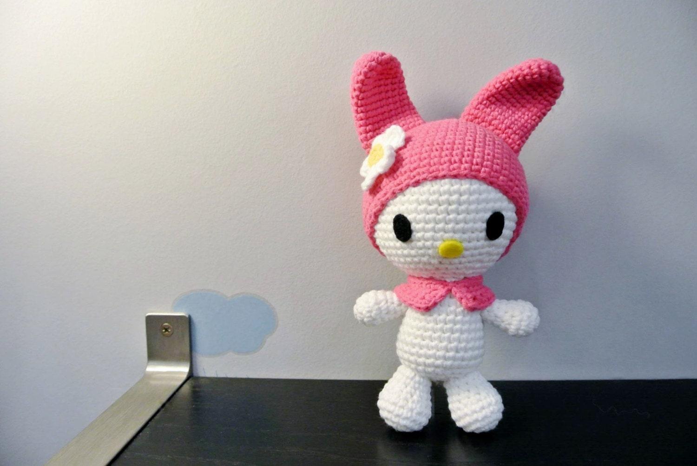 Crochet My Melody Amigurumi Handmade Crochet Amigurumi Toy