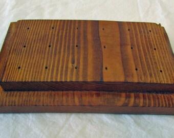 Custom Made Wooden 18 Dart Stand