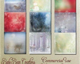 Commercial Use Christmas Papers 2