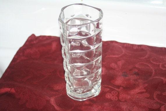 Mikasa Home Decor: Mikasa Crystal Abstract Vase Home Decor