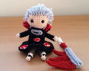 Hidan Amigurumi doll