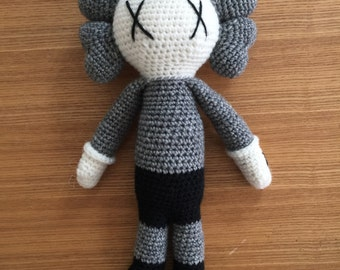 Kaws Crochet Doll
