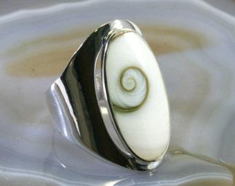 Shivaeye ring 925 sterling silver  -- 6038