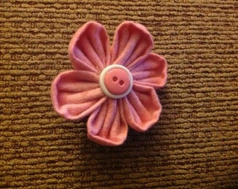 Fabric Flower Making Template, Guide, Quilt Pattern; Kanzashi Japanese Flower Maker Orchid Petal, Large, 3 inch, 75mm
