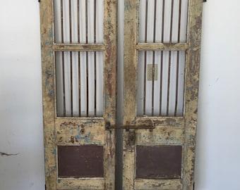 Antique Indian Gate Doors