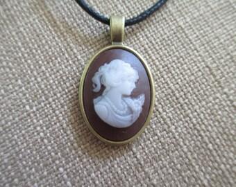 Cameo Necklace Pendant