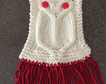 Oscar the Owl Child's Scarf-Size Small
