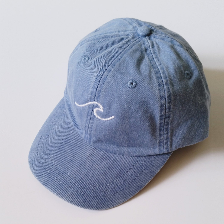 Waves baseball cap periwinkle