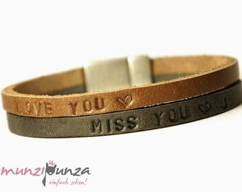 Leather Bracelet name article 96