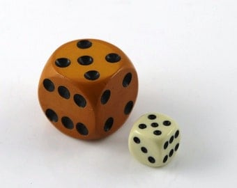 Bakelite dice, big model