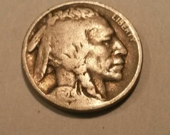 1929-D Buffalo Nickel