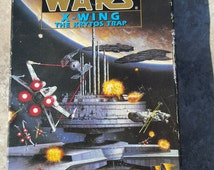Star Wars X Wing Vintage Audio Cassette Tapes Narrated by Henry Thomas Actor The Krytos Trap Michael A Stackpole 2 Tapes Book 3 in Series
