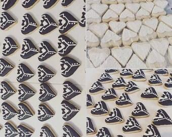 Bride & Groom cookies/ Sugar cookies/