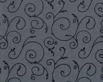 Filigree Medium Grey Swirl from Maywood Studios