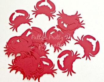 Crabs Die Cuts, Crabs Confetti, 20 Ct.