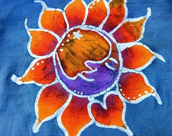 Moonburst batik