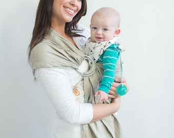 Woven Baby Carrier, Baby Sling, Ring Sling