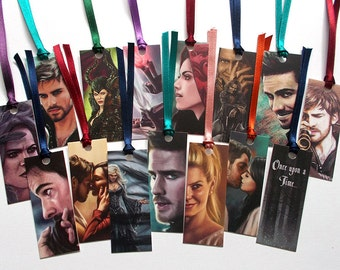 Once Upon A Time mini bookmarks
