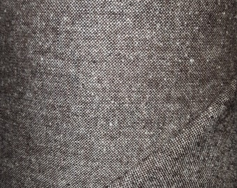 Luxury Italian wool tweed fabric  ,material ideal for coats and suits