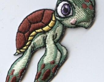 Children's Baby Sea Turtle Iron on Applique 796030A