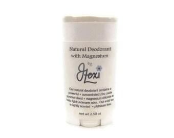 Natural Magnesium Deodorant, natural deodorant, magnesium deodorant, deodorant, handmade deodorant, magnesium, zinc oxide deodorant,