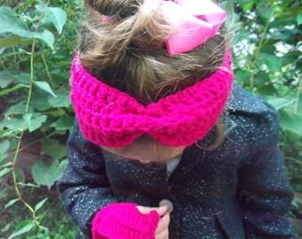Toddler Earwarmer, Crochet Earwarmer, Toddler EarWarmer, Toddler Headband, Crochet Headband,
