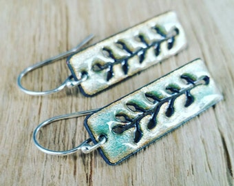 """Botanical"" earrings"