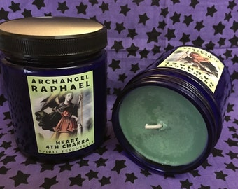 4th Chakra Candle - Archangel Raphael Candle