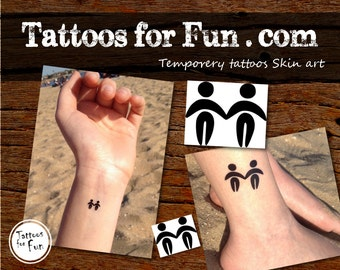 Zodiac Sign Temporary Tattoo- Choose Your Pack- Gemini Fake tattoo- Astrology Water Tattoos- Stick On Horoscope Tattoos- Astrological Sign