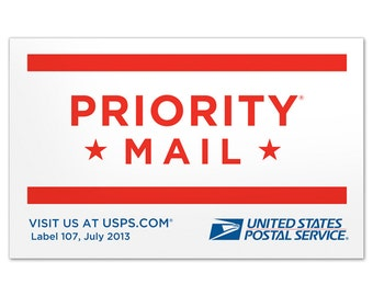 expedited shipping on labels