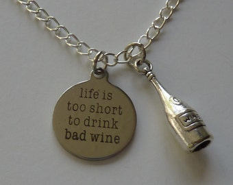 Wine glass necklace, wine jewelry, bottle opener, wine, wine glass, red wine, wine necklace, merlot, bottle opener jewelry, wine lover, wine