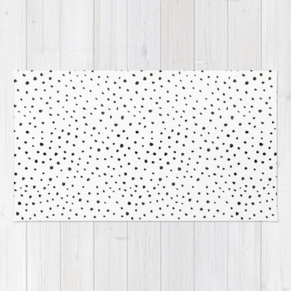 Black And White Polka Dot Rug Roselawnlutheran