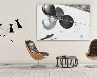 Black and White Photography | Balloons | Fine Art Photography | Fine Art Prints