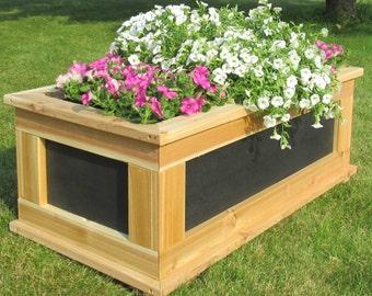 Premium Quality HDPE Rectangular Cedar Planter